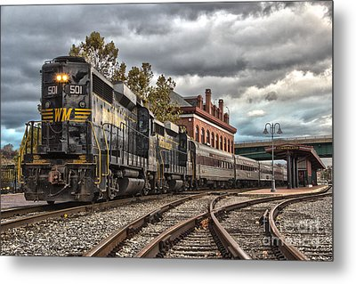 Western Maryland Scenic Railroad Metal Print
