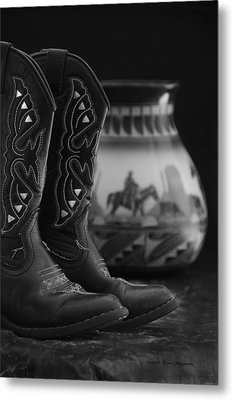 Metal Print featuring the photograph Western Still Life 2 by Kenny Francis