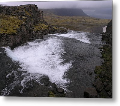 Metal Print featuring the photograph Westfjords by Christian Zesewitz