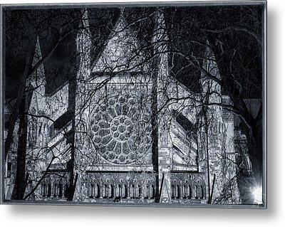 Westminster Abbey North Transept Metal Print