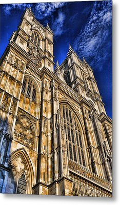 Westminster Abbey West Front Metal Print