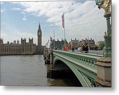 Westminster Bridge Metal Print