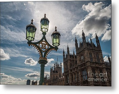 Metal Print featuring the photograph Westminster by Matt Malloy