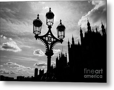 Metal Print featuring the photograph Westminster Silhouette by Matt Malloy