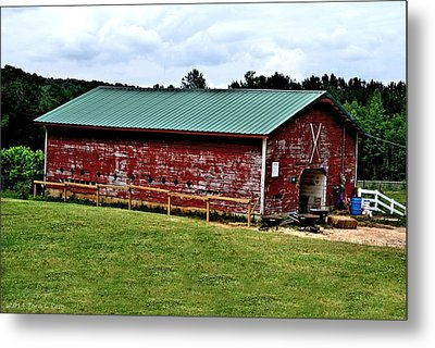 Westminster Stable Metal Print by Tara Potts