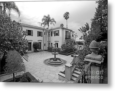 Westmont College Courtyard Metal Print by University Icons