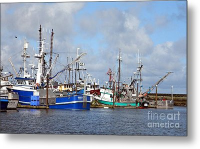 Westport Fishing Boats 2 Metal Print