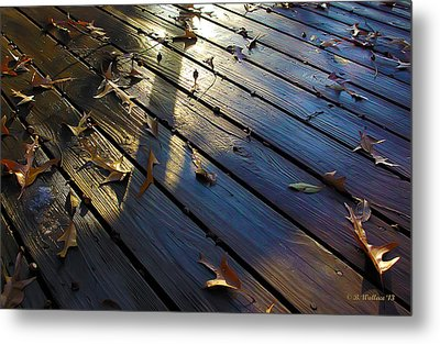 Wet Deck Metal Print by Brian Wallace