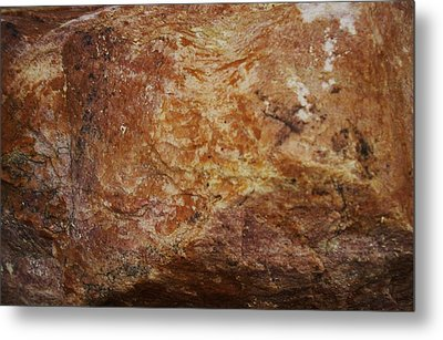 Metal Print featuring the photograph Wet Rock by J L Zarek