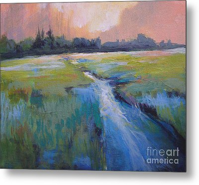 Wetland Metal Print by Melody Cleary