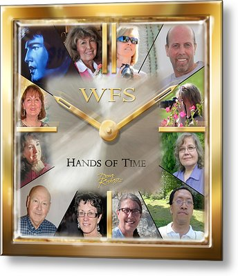 Wfs Hands Of Time Metal Print by Doug Kreuger