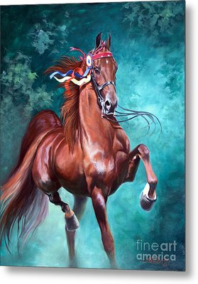 Wgc Courageous Lord Metal Print by Jeanne Newton Schoborg