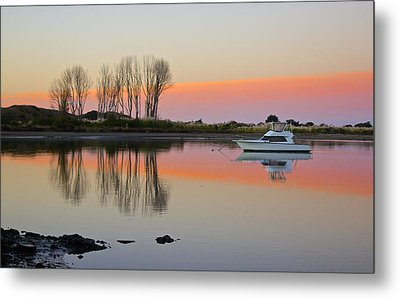 Whakatane At Sunset Metal Print by Venetia Featherstone-Witty