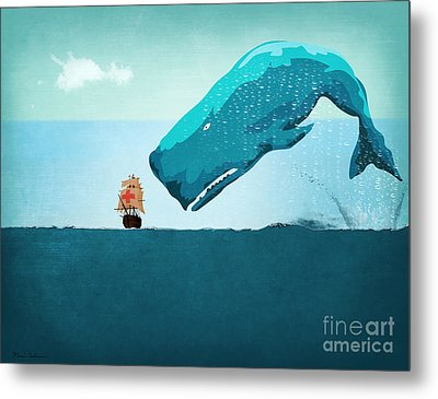 Whale Metal Print by Mark Ashkenazi