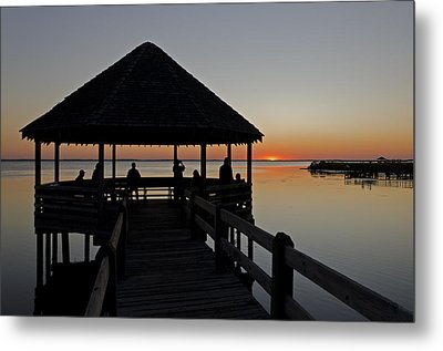 Metal Print featuring the photograph Whalehead Sunset Obx by Greg Reed