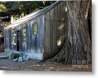 Metal Print featuring the photograph Whaler's Cabin by Vinnie Oakes