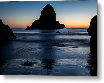 Whaleshead Beach Sunset Metal Print by John Daly