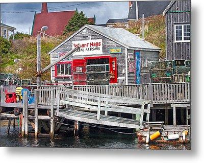 Wharf Hags Peggy's Cove Metal Print by Betsy Knapp