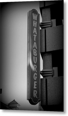 What A Burger Metal Print by Beth Vincent