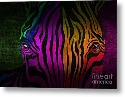 What Are You Looking At 2 Metal Print