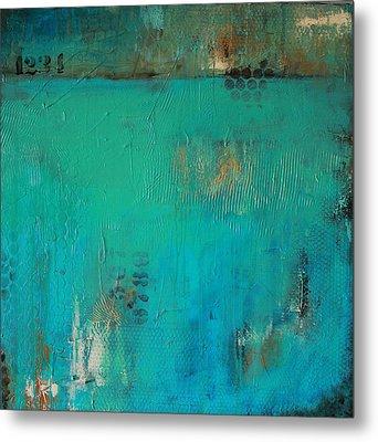 Blue Lagoon Metal Print by Lauren Petit
