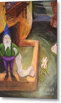 What Do You Gnome About Me Metal Print