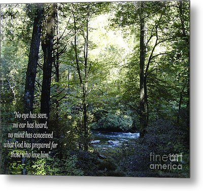 What God Prepares Metal Print