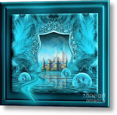 Metal Print featuring the digital art What If - Fantasy Art By Giada Rossi by Giada Rossi