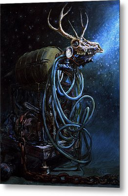What If... Metal Print by Frank Robert Dixon