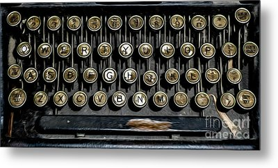 What Is Your Story ...?  Metal Print by Carl Warren