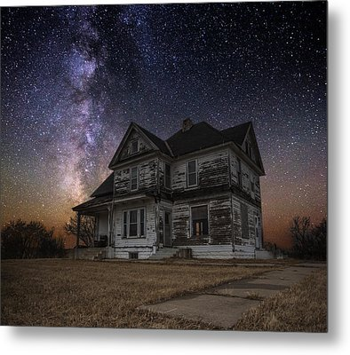 What Once Was Metal Print by Aaron J Groen