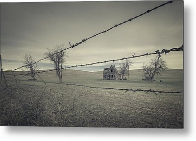 What Once Was Metal Print by Everet Regal