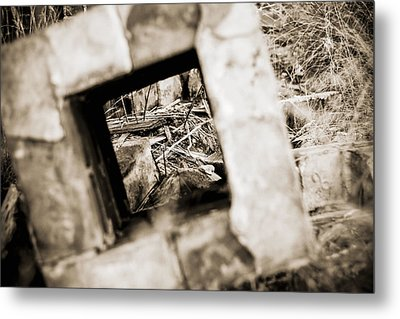 Metal Print featuring the photograph What Remains by Amber Kresge