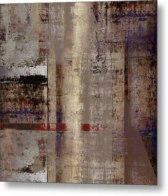 What Remains Metal Print by Carol Leigh
