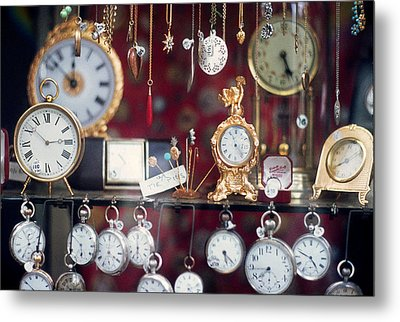 What Time Is It? Metal Print