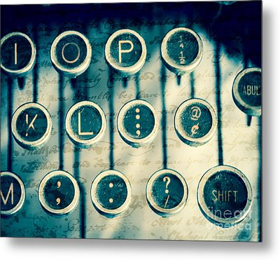 What To Say Metal Print by Sonja Quintero