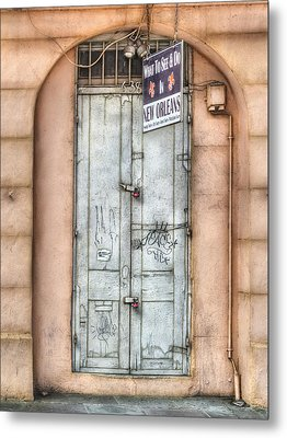What To See And Do In New Orleans Metal Print by Brenda Bryant