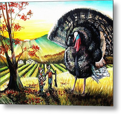 Whats For Dinner? Metal Print by Shana Rowe Jackson