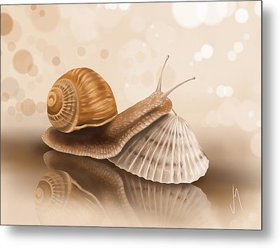 What's The Difference? Metal Print by Veronica Minozzi