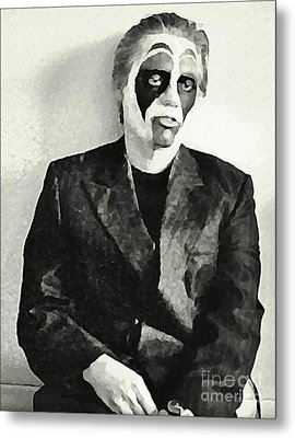 Whats The Point In Miming Metal Print by John Malone