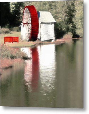 Wheel House Metal Print by Raymond Earley