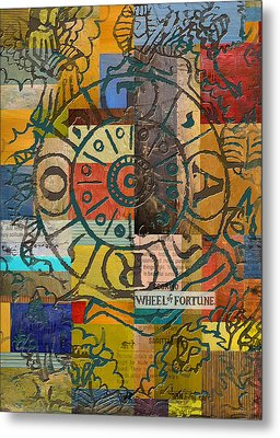 Wheel Of Fortune Metal Print by Corporate Art Task Force