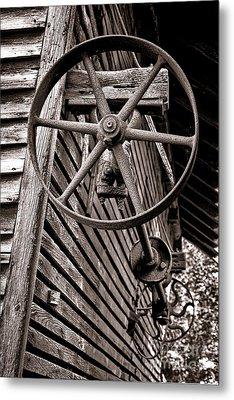 Wheel Of Labor  Metal Print