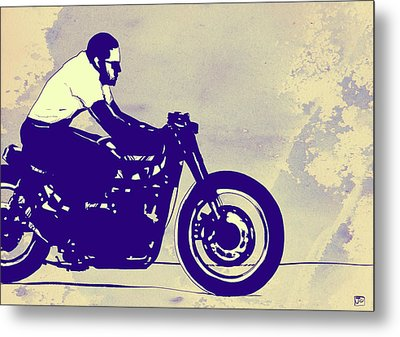 Wheels Metal Print by Giuseppe Cristiano