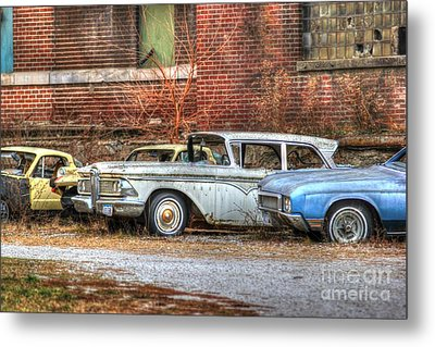 Wheels Metal Print by Thomas Danilovich