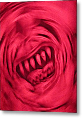 Metal Print featuring the photograph When Anxiety Attacks by John King