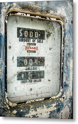 When Gas Made Cents Metal Print by Caitlyn  Grasso