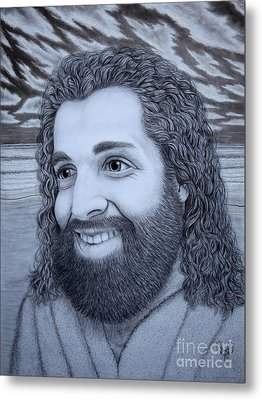 When Jesus Thinks Of Me Metal Print