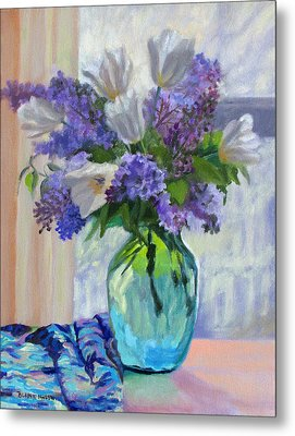 When Lilacs Bloomed Metal Print