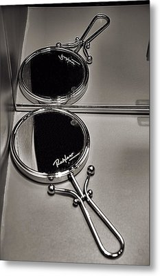 Metal Print featuring the photograph When Mirrors Collide by Bob Wall